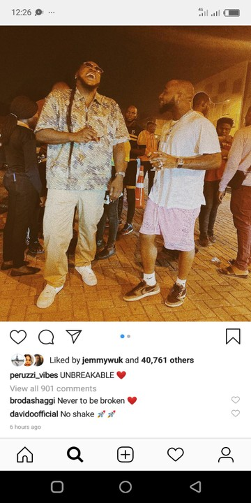 Peruzzi Proves That He Has No Issues With His Boss & Davido Reacts
