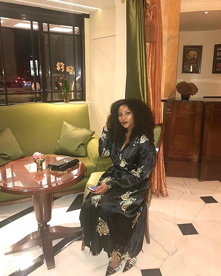 Actress Genevieve Nnaji shares cute photos