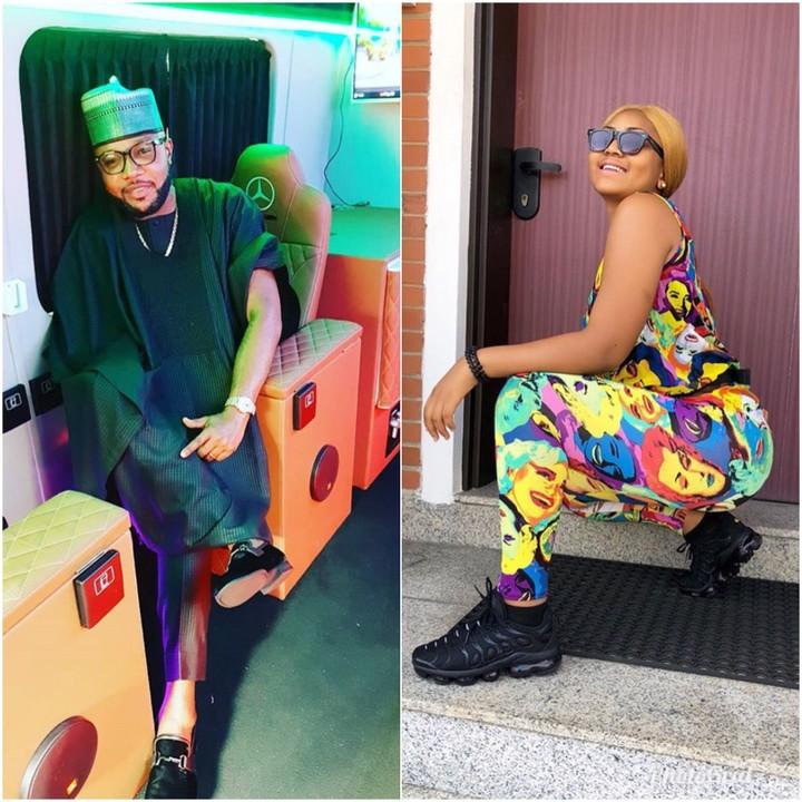 E-Money Blesses Regina Daniels With N500k