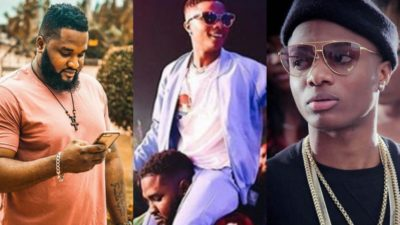 Wizkid's Bodyguard Survives Butchering As He Protects His Boss Who Owes Club Millions Of Naira
