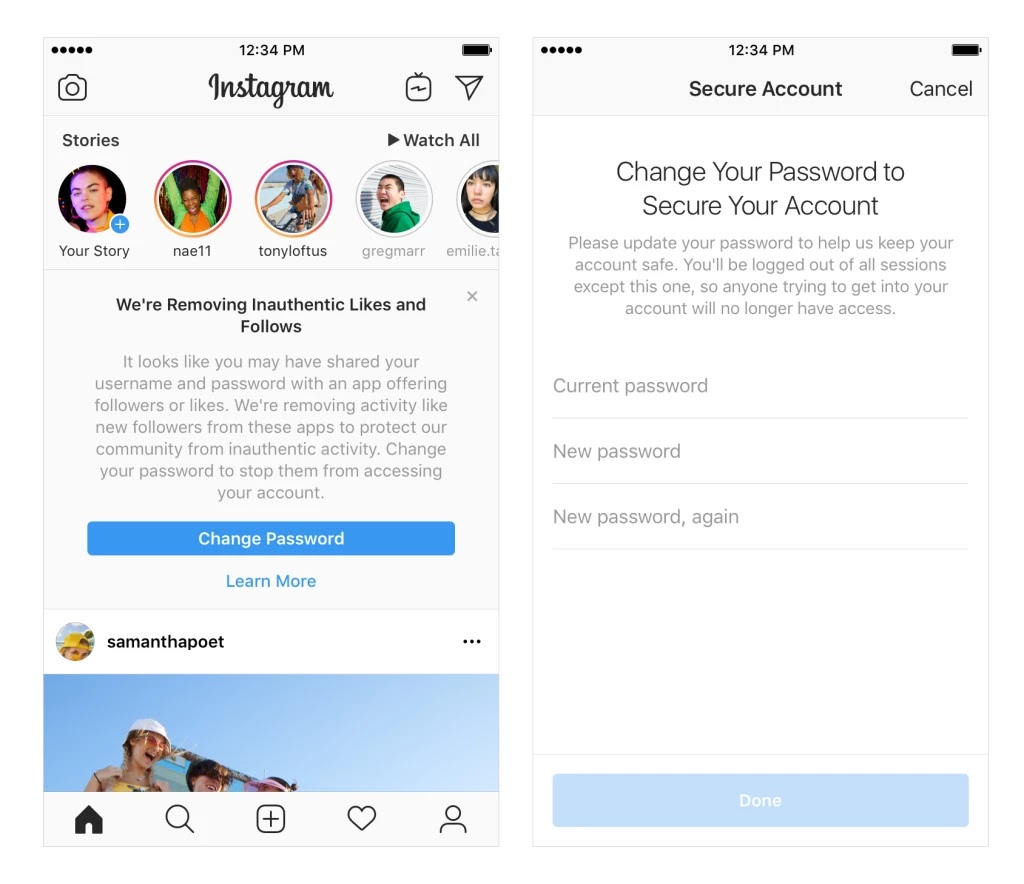 Instagram begins to delete fake followers and likes