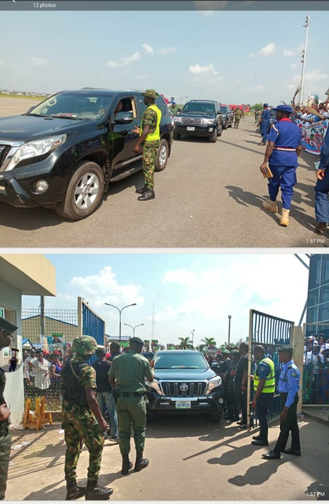 Photos of Osinbajo Arrival at Enugu Airport