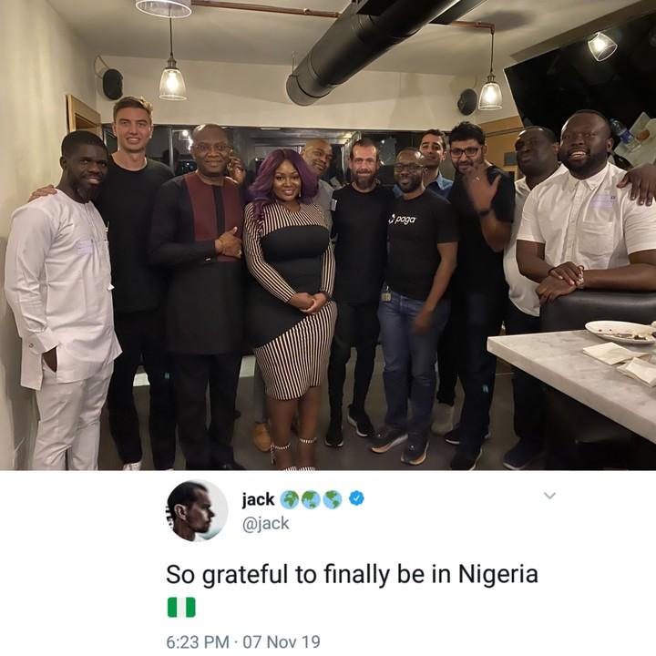 Jack Dorsey, Twitter CEO Visits Nigeria
