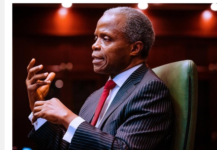'FG is open to new creative ideas for Nigeria's economy to grow' - Osinbajo
