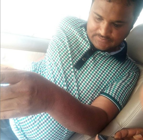 Beware of this Indian Man; He is a scammer in Lagos