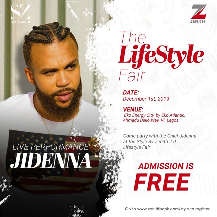 Jidenna, Davido, Tekno & Flavour Performed At Zenith Lifestyle Fair On December 1st