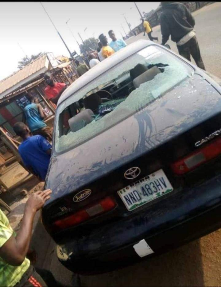 Robbers Attack Bank In Ondo With Bomb, Many Feared Dead - See Graphic Photos