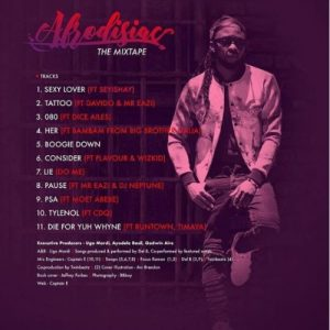 Del B Ft Flavour And Wizkid - Consider