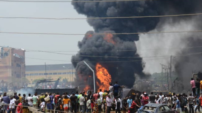 Lagos Explosion Kills At Least 15, Properties Destroyed