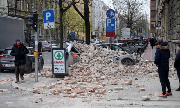 Amidst Coronavirus Scandal, Powerful Earthquake Hits Zagreb