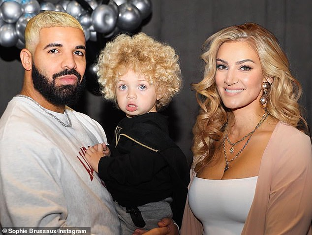 Drake's Baby Mama Photoshops Their Hair Blonde In New IG Photos