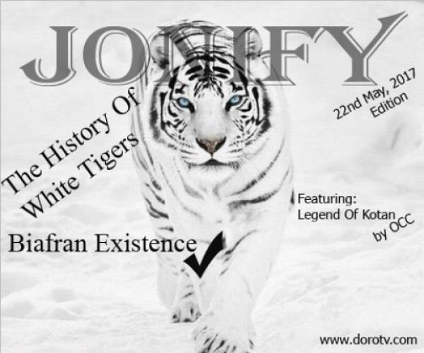 The 1st Edition Of JONIFY Magazine series