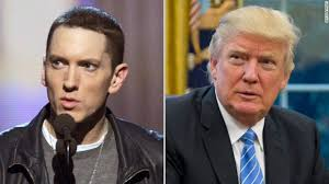 "Eminem fires at Trump: ""Racism is the only thing he's fantastic for"""
