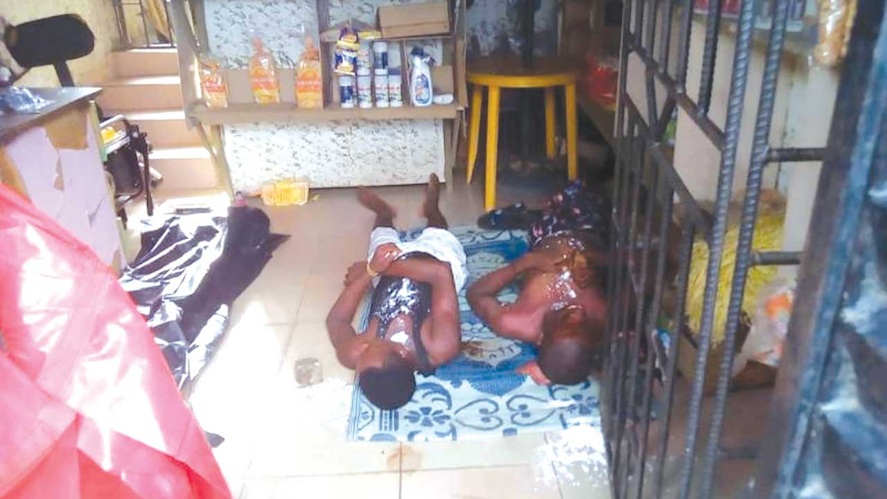 Two Siblings Found Dead In a Shop With Powder In Mouths