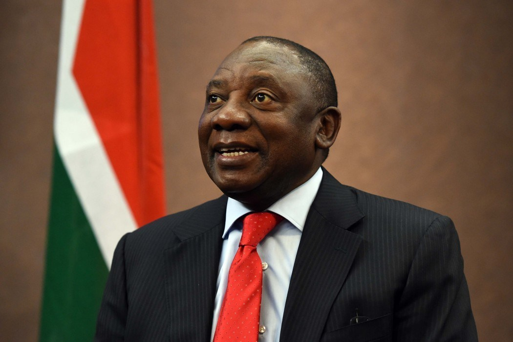 SA Swears In Cyril Ramaphosa As New President