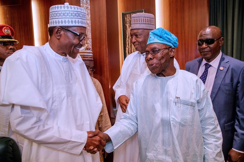 Obasanjo Safely Lands After Plane Crash Threatens His Journey