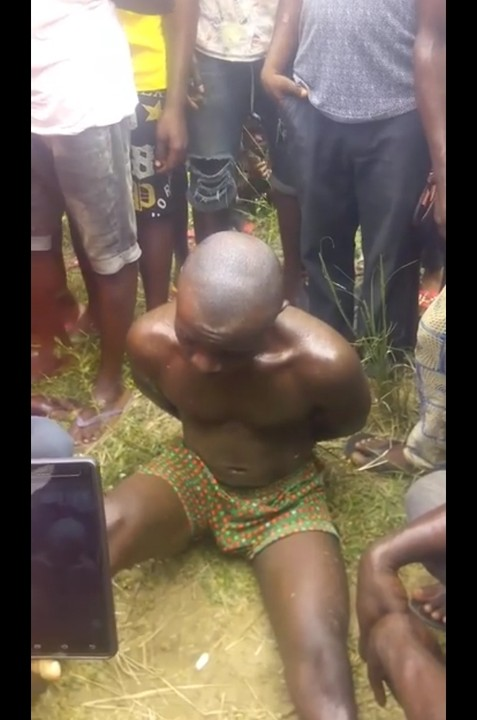 See Why a Man Buried His 4-year Old Daughter Alive - See Photos