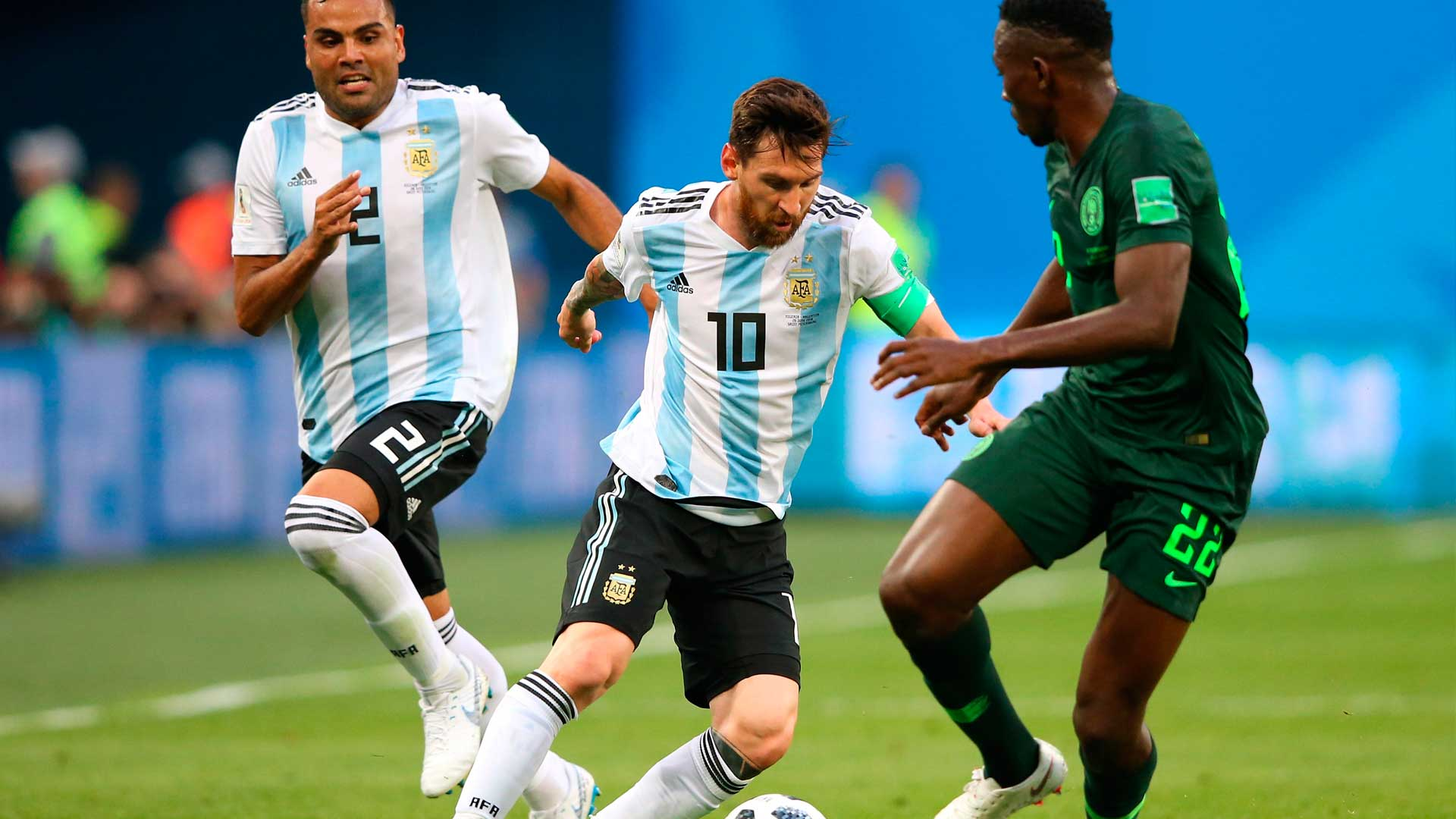 """""""It would have been a humiliation if Nigeria beat us out of World cup"""" - Messi"""