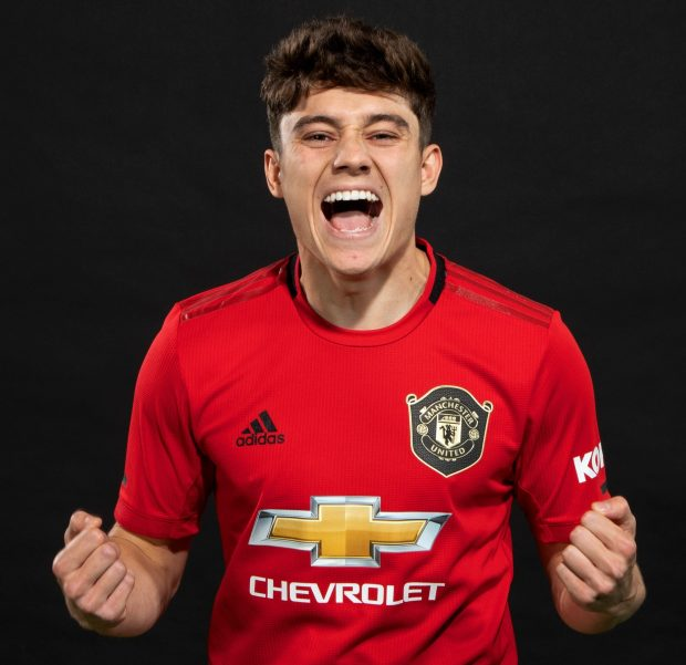 Manchester United Completes Deal With Daniel James