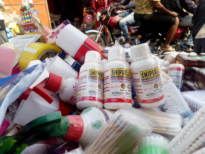NAFDAC Bans The Sale Of Sniper Insecticides In Markets