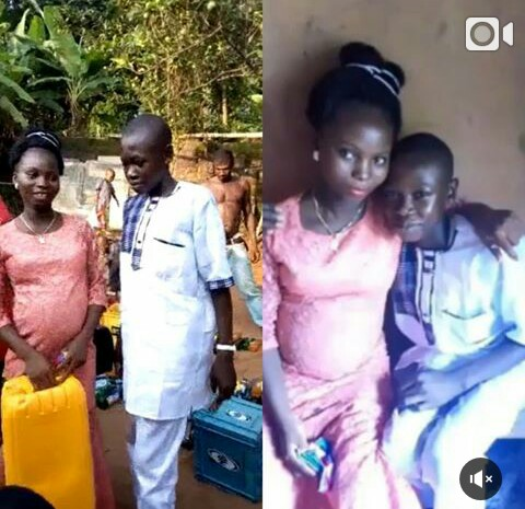 Family Forces 14-Year-Old Boy To Marry Older Girl He Impregnated