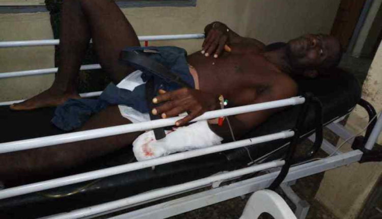 Security Officer Gets Shot When He Confronted Armed Robbers