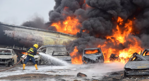 Two Reported Dead As Pipeline Explodes In Ijegun