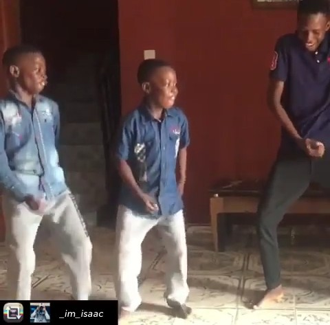 Small Boys Dance To Naira Marley 'Soapy' - See Reactions