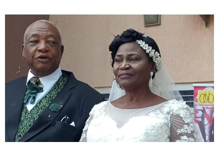 73-Year-Old Man Weds 63-Year-Old Lady - See Photos