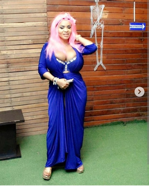 Curvy Actress Cossy Orjiakor Undergoes HIV Test, See Result