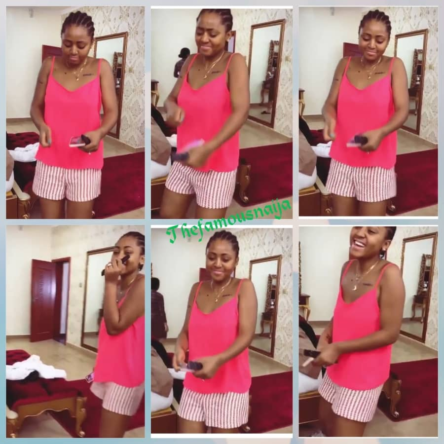 New Picture Of Regina Daniels Dancing In Husband's Boxers, She Now Looks Old