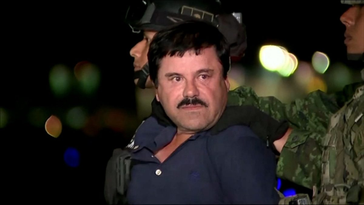 Pablo Escobar's Mate, El Chapo Jailed For Life In US