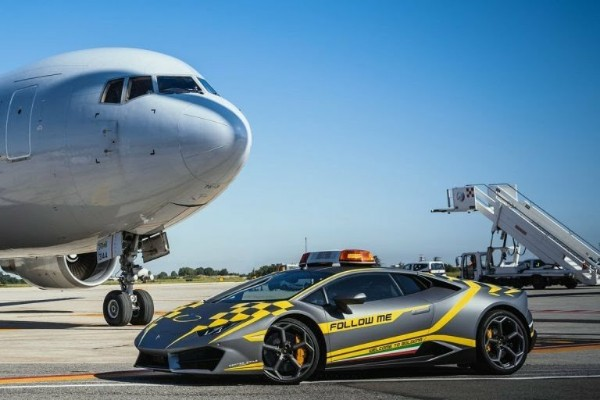 Look At The N155m Lamborghini Airport Taxi In Italy
