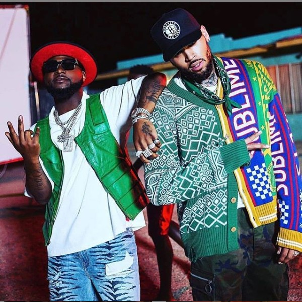 Davido Shares Updates With Chris Brown On New Song Release