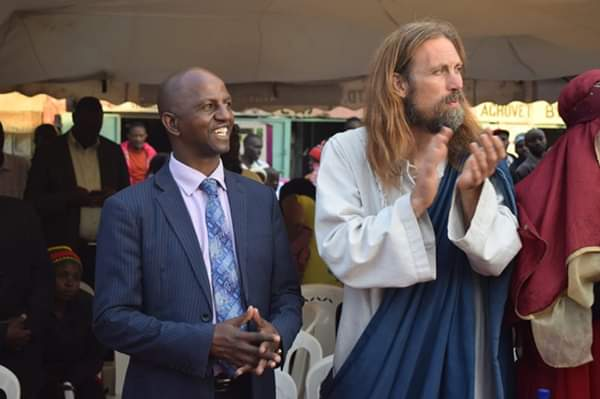 Kenyan Pastor Invites 'jesus' To Preach For Family - See Photos