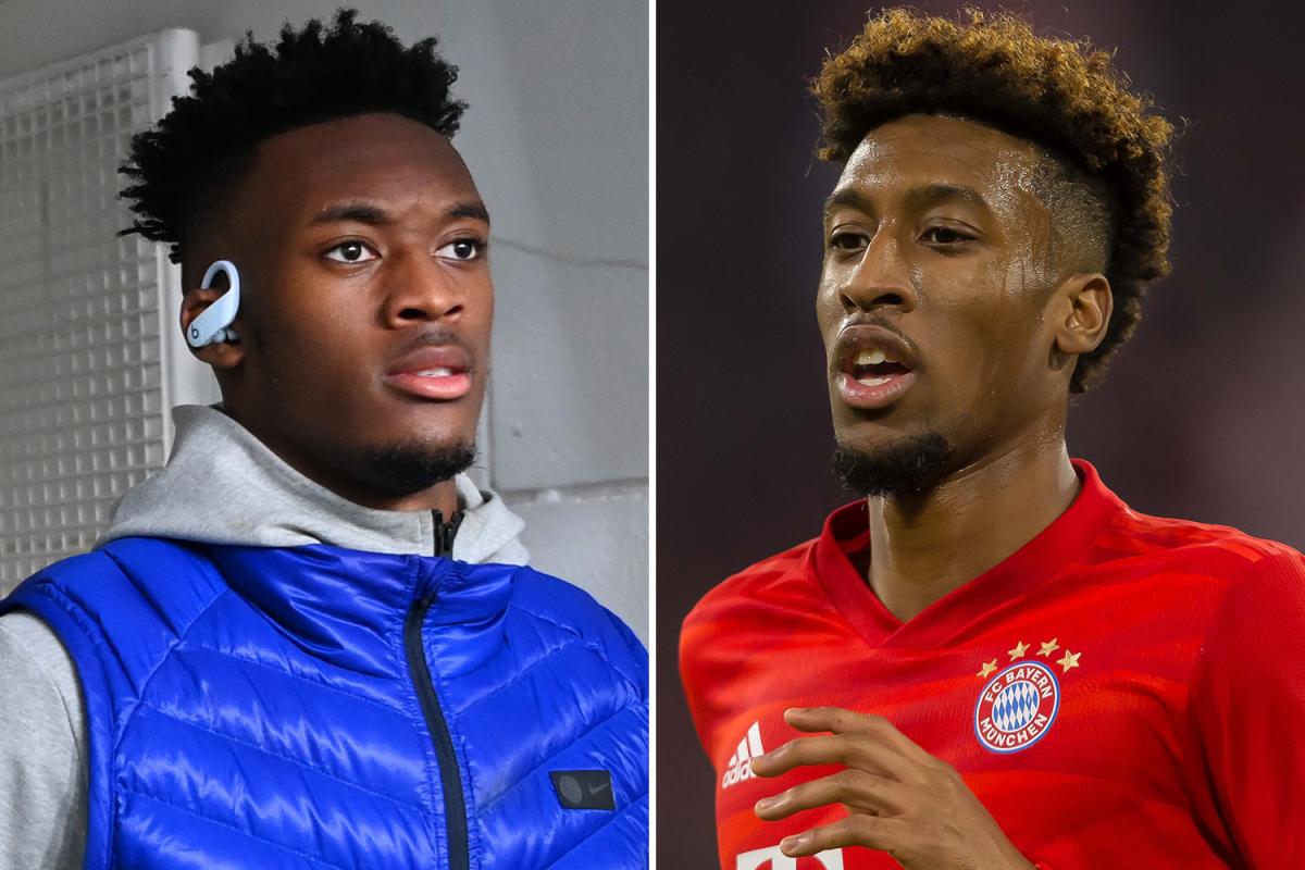 Chelsea willing to include Hudson-Odoi in Coman deal
