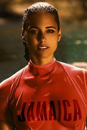 Alicia Keys remakes a photo of Muhammad Ali and Sintra Arunte-Bronte