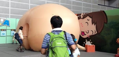 TV Tokyo exhibit that lets kid move from anus into the human body