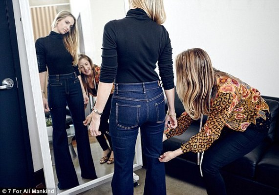Model Natasha Wagner has the best butt in the US for Jean