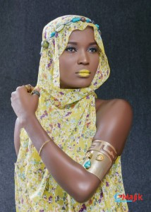 See The African Model Making Waves All Over The Media  -  Photos