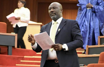 Senator Dino Melaye Returns To The Senate House - Moves To PDP