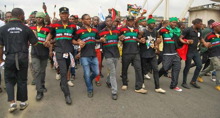IPOB hails President Buhari for bidding re-election - See why