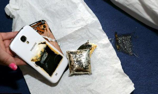 Police warns of dangers of charging cell phones under pillow