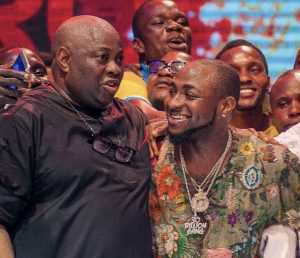 Davido and Dele Momodu reconciles at Ovation concert - 'We are a family'