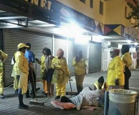 See what turned SA Street cleaners & security guards to emergency midwives