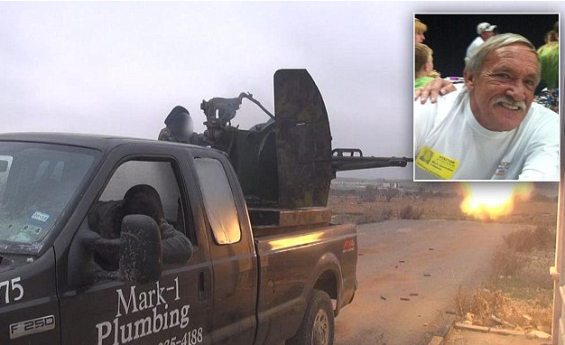 US plumber discovers his truck is being used by ISIS on TV