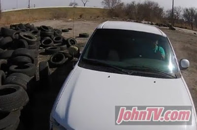 See what a Secret Drone found this Hooker doing