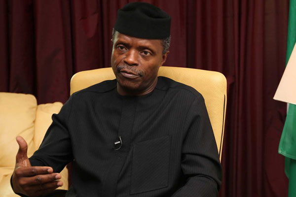 FG spend 594 Cattle, 138,000 Chickens, 6.8 million Eggs, 83 Metric Tonnes of Fish Weekly to feed School Children - VP Yemi Osinbajo