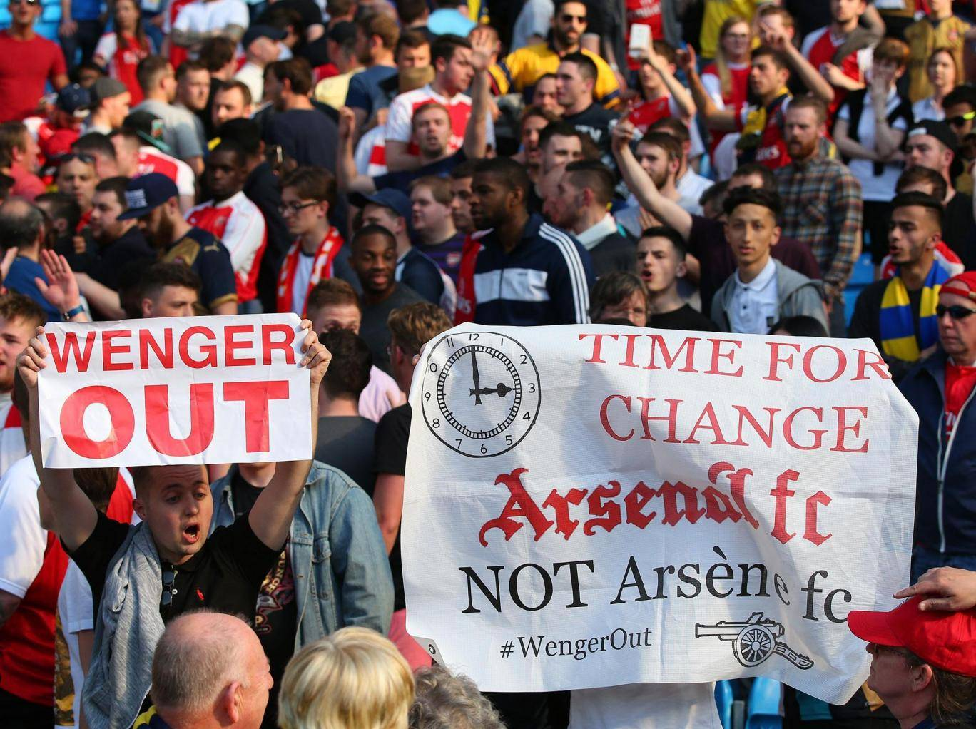 """sacking Arsene Wenger would have been the easy way out"" - Stan Kroenke"