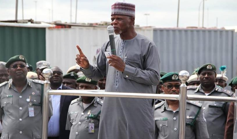 Customs intercepts 27 hilux vans worth N432m in Abuja